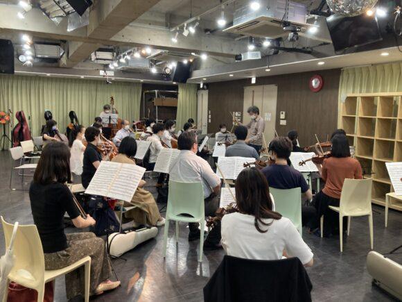 オーケストラ練習,オーケストラリハ,吹奏楽,吹奏楽練習,オーケストラ,