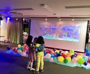 DVD鑑賞会 試写会 200インチスクリーン 秋葉原ハンドレッドスクエア倶楽部