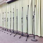 無料で利用できる 音響機材 秋葉原の貸切ホールマイクスタンド9