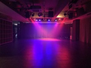 ダンスイベント会場 秋葉原イベントスペース 照明 スモーク
