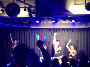 アイドルライブ アイドルイベントとしての利用事例 秋葉原ハンドレッドスクエア倶楽部