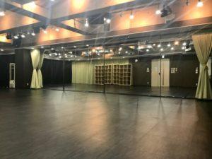 10m鏡面 秋葉原イベントスペース 秋葉原ハンドレッド ヨガ ダンスレッスン