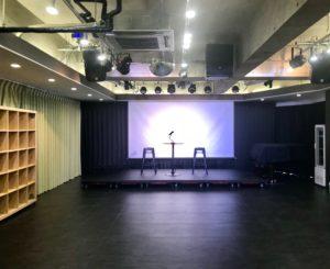 トークショー トークイベント会場としての利用事例 秋葉原ハンドレッドスクエア倶楽部
