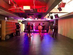ダンスイベント ステージ 照明