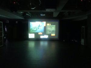 150インチ 大スクリーン