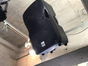 ダンスイベント会場 秋葉原でダンスイベント 音響 スピーカー