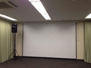 講演会 セミナー 研修会 にぴったりな スクリーン 無料レンタル